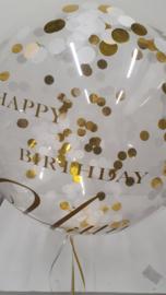 Bubble ballon met tekst
