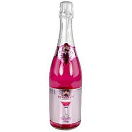 Alcohol-vrije cocktail roze