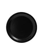 Papieren bordjes zwart (20st)