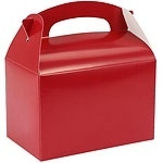 Favor box red