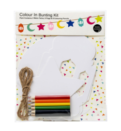 Color me bunting set