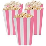 Treat box pink stripes (5pcs)