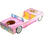 Pink Cadillac food tray
