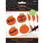 Halloween labels for candy table (20pcs)