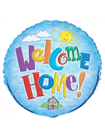 """Foil balloon Welcome Home 18"""""""