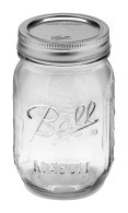 Mason jar 16oz regular mouth