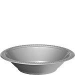 Plastic bowls silver (20pcs)