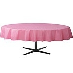 Tablecover pink round