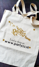 Personalised canvas bag