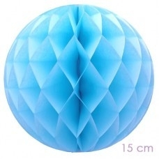 Honey comb baby blue 15cm