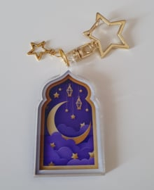 Acrylic hanger star clip