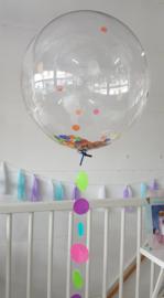 Bubble balloon confetti