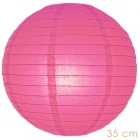 Lampion hot pink 35 cm