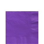 Paper napkins purple (20pcs)