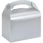 Favor box silver