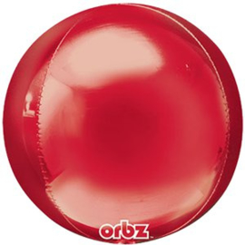 Orbz balloon red (each)