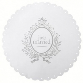 Placemats just married (6st)