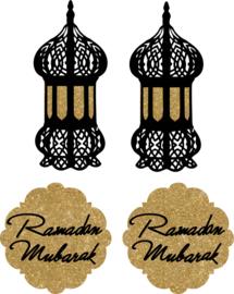Hangers Ramadan Mubarak (4st)