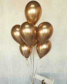 Ballon chrome goud (pst)