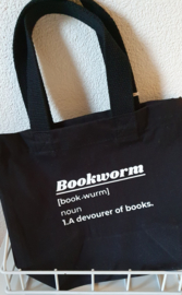 Mini tote black Books