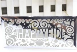 Money envelope Eid metallic silver (ea)