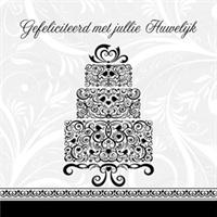 Kaart: Gefeliciteerd met jullie huwelijk