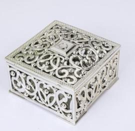Gift doosje zilver (pst)