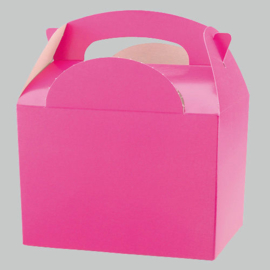 Party box fuchsia roze