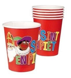 Sinterklaas paper cups (8pcs)
