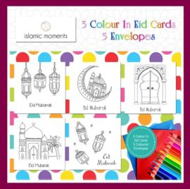 Set kleurkaarten  (5st)
