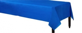 Tablecover royal blue plastic