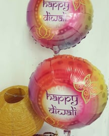 Foil ballon Happy Diwali