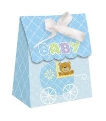 Baby teddy favor boxes (12pcs)
