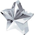 Balloon weight star silver