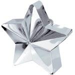 Ballongewicht zilveren ster