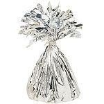 Balloon weight silver foil