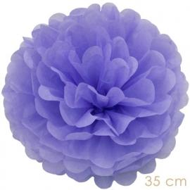 Pompom lila paars 35cm