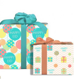 Eidwrapping paper colorful balloons (2pcs)