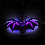 Halloween necklace glow bat