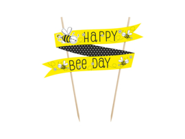 Cake topper Happy BEE day