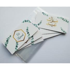 Tractatiezakjes Eid groen blad (6st)