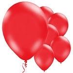Balloons red (10pcs)