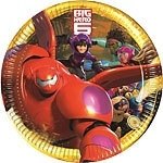 Big Hero 6 bordjes groot (8st)