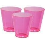 Mini shot glasses pink (12pcs)