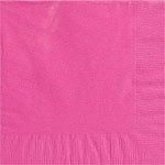 Servetten groot hot pink (20st)