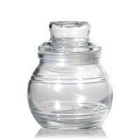 Glass jar small round (ea)