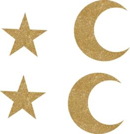Hanger set moon en stars