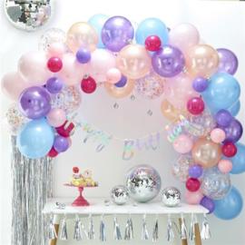 Ballonnenslinger set pastel