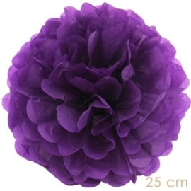 Pompoms purple