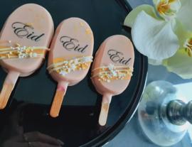 Cakesicle box Eid blush pink